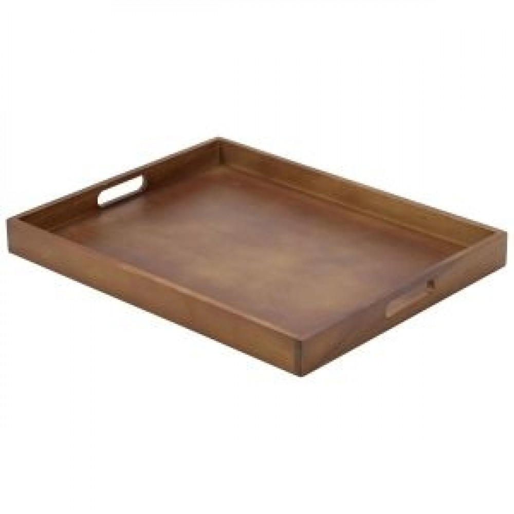 Genware Wooden Butlers Tray 49x38.5x4.5cm