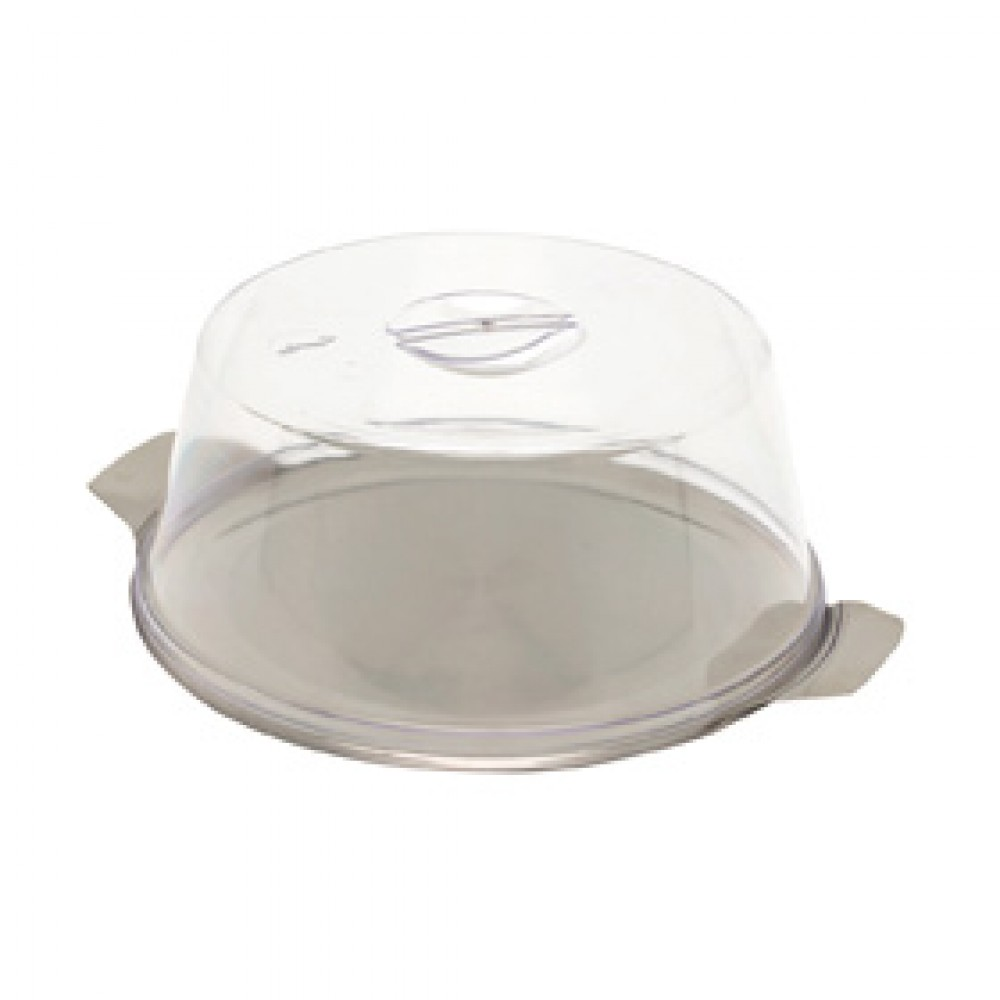Genware Stainless Steel Cake Plate 300mm