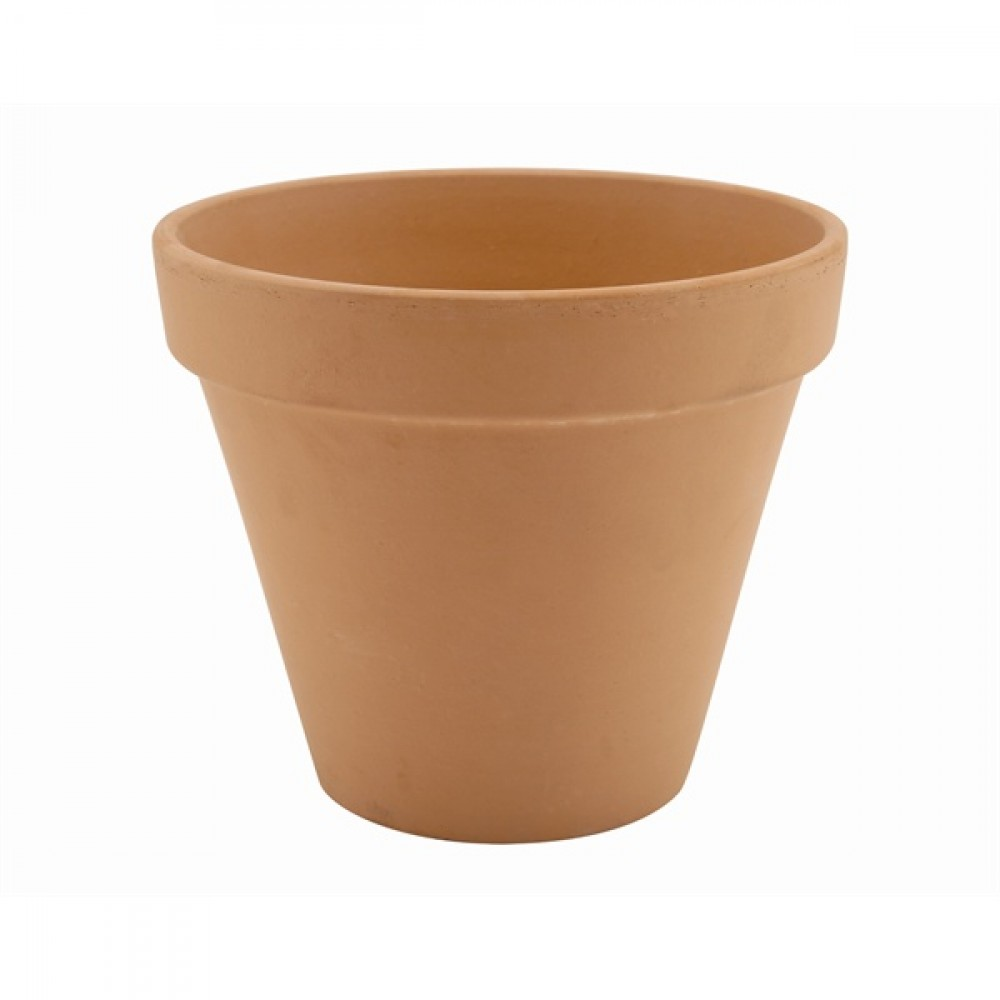 Genware Terracotta Pot Rustic 11.2x9.7cm