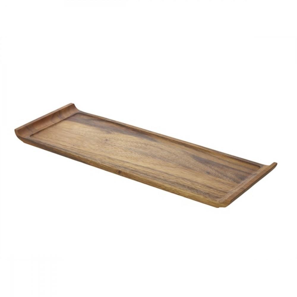 Genware Acacia Wood Serving Platter 46x17.5x2cm
