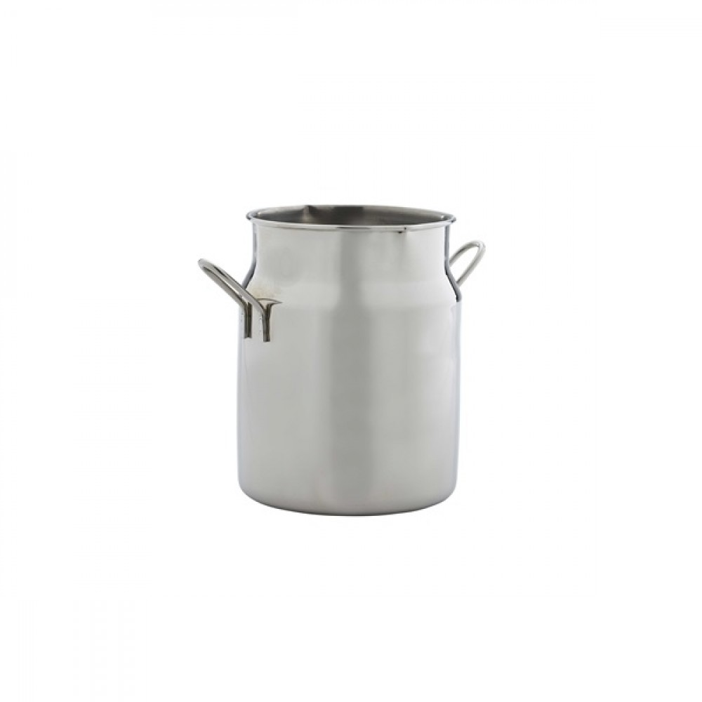 Genware Stainless Steel Mini Milk Churn 45cl/16oz
