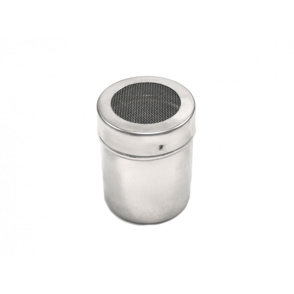 Berties Stainless Steel Small Chocolate Shaker with Large Mesh