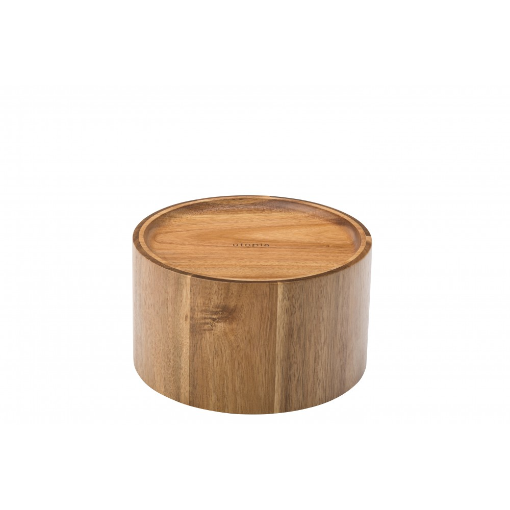 Utopia Acacia Nantucket Punch Barrel Stand For GUJB021 21.5c