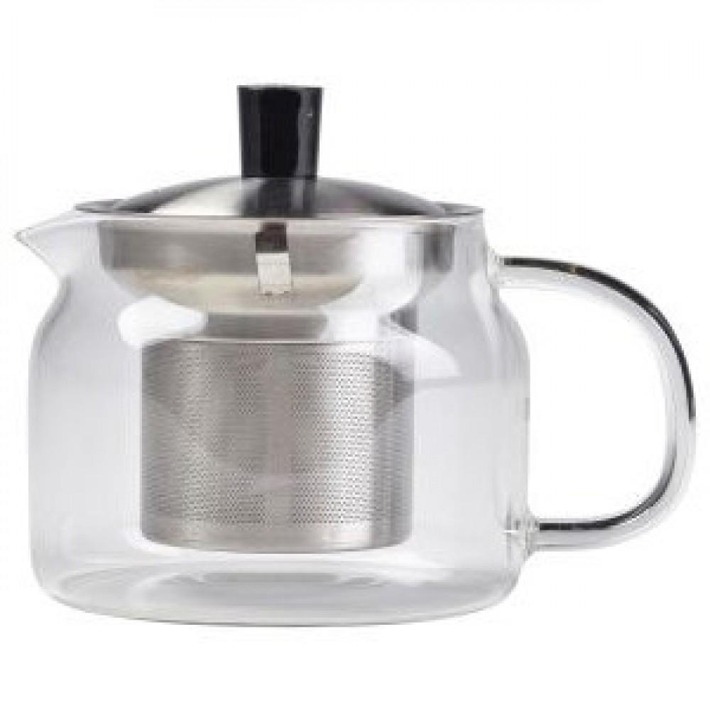 Genware Glass Teapot 47cl/16.5oz