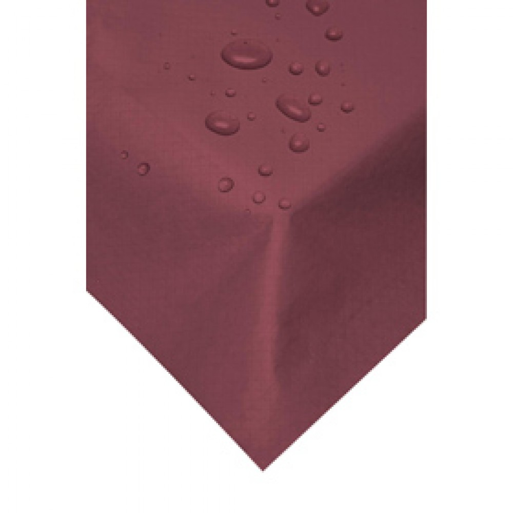 Swantex Burgundy Wipeable Table Cover 120cm