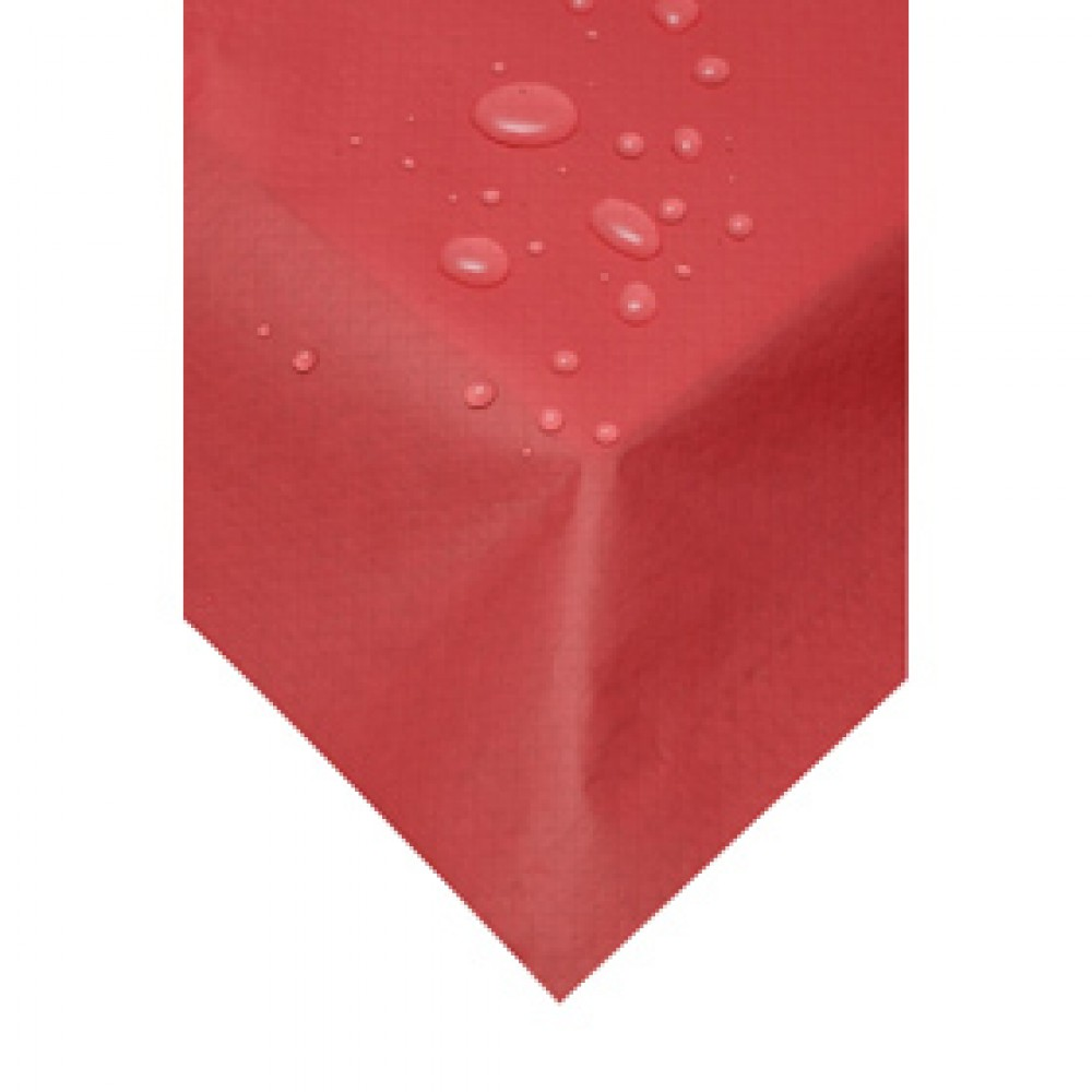 Swantex Red Wipeable Table Cover 120cm