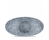 Churchill Studio Prints Mineral Chef's Oval Plate Mineral Blue 29.9x15cm