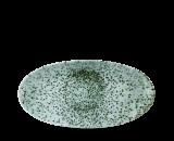 Churchill Studio Prints Mineral Chef's Oval Plate Mineral Green 29.9x15cm