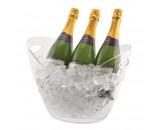 Genware Acrylic Champagne Bucket 34.6x26.5x26cm