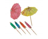 Berties Cocktail Parasols 4""