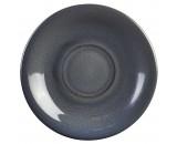 Terra Stoneware Rustic Saucer Blue 15cm