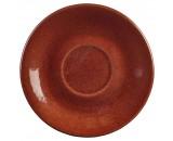 Terra Stoneware Rustic Saucer Red 15cm