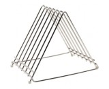 "Genware Stainless Steel Heavy Duty Chopping Board Rack for 6x0.5"" or 6x1"" boards"