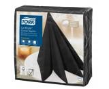 Tork Linstyle Black Dinner Napkin 39cm