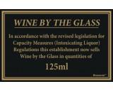 Berties Wine By The Glass Quantities 125ml 17x14cm