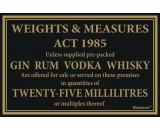 Berties Weights & Measures Act 25ml 17x14cm