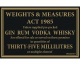 Berties Weights & Measures Act 35ml 17x14cm
