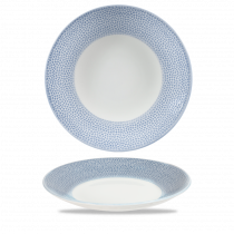 Churchill Isla Deep Coupe Plate Ocean Blue 28.10cm-11""