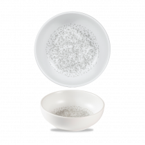 Churchill Art De Cuisine Menu Shades Bowl Caldera Chalk White 34cl-12oz 13.4x3cm