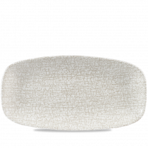 Churchill Studio Prints Breccia Chef's Oblong Platter Agate Grey 35.5x18.9cm