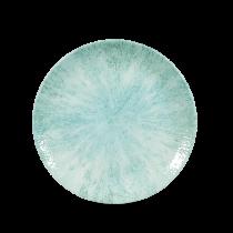 """Churchill Studio Prints Stone Small Coupe Plate Aquamarine 16.5cm-6.5"""""""