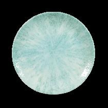 """Churchill Studio Prints Stone Medium Coupe Plate Aquamarine 21.7cm-8.5"""""""