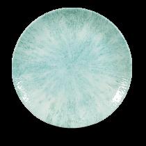 "Churchill Studio Prints Stone Intermediate Coupe Plate Aquamarine 26cm-10.25"""