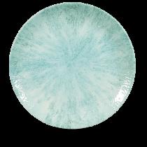 "Churchill Studio Prints Stone Large Coupe Plate Aquamarine 28.8cm-11.25"""