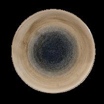 "Churchill Stonecast Aqueous Coupe Plate Bayou 26cm-10.25"""