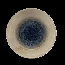 "Churchill Stonecast Aqueous Deep Coupe Plate Bayou 25.5cm-10"""