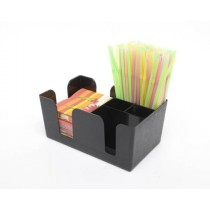Berties Bar Caddy and Organiser Black
