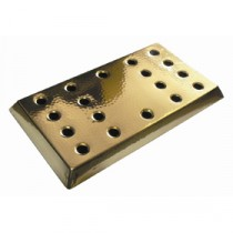 Berties Bar Tray Brass 410x230mm