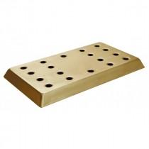 Berties Bar Tray Brass Effect 410x230mm