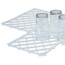 Berties Glass Clip Mats 30x20cm