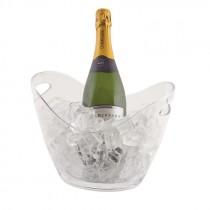 Genware Acrylic Champagne Bucket 27.2x20.4x19.4cm