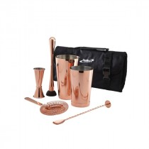 Berties Copper Cocktail Bar Kit 7pcs
