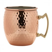 Berties Copper Hammered Moscow Mule Mug 55cl/19.25oz