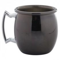 Berties Gun Metal Mini Barrel Mug 6cl/2oz