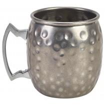 Berties Vintage Barrel Mug Hammered 40cl/14oz