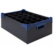 Berties Glass Storage Box 24 Slot 10oz