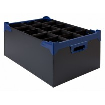 Berties Glass Storage Box 15 Slot 20oz