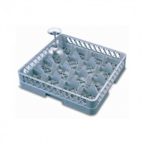 Genware Glass Base Rack 16 Compartment
