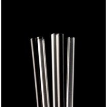 "Berties Frappe Cocktail Straw 4"" Black"