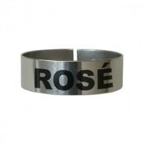 Berties Thimble Measure Identification Clip Rose Wine