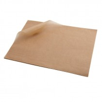 Berties Greaseproof Paper Brown 25x20cm (1000 Sheets)