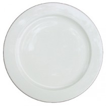 Churchill Alchemy White Plate 25.4cm/10""
