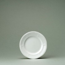 """Churchill Buckingham White Plate/Soup 18.5cm/7.25"""""""