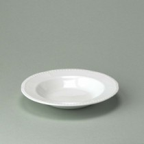 Churchill Buckingham White Rimmed Soup 23cm/9""