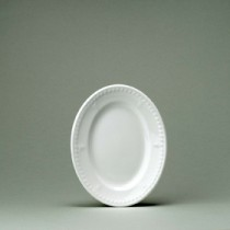 Churchill Buckingham White Oval Plate 20.3cm/8""