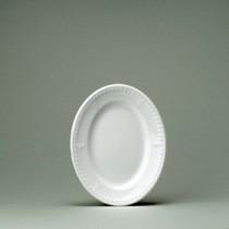 """Churchill Buckingham White Oval Plate 20.3cm/8"""""""